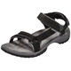 Teva Terra Fi Lite Leather Sandali Donna nero